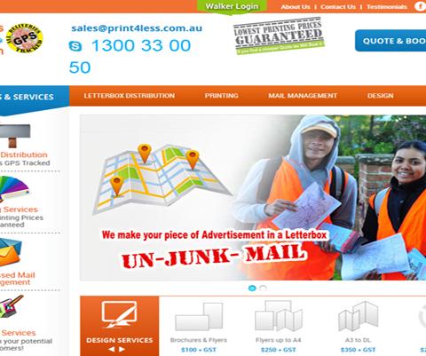 Print4less Advertising Distribution